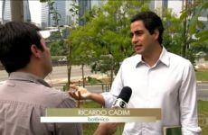 Floresta de Bolso na Ponte Cidade Jardim - Ricardo Cardim